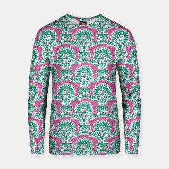 Miniatur  Ancient Mexican Myth Cotton sweater, Live Heroes