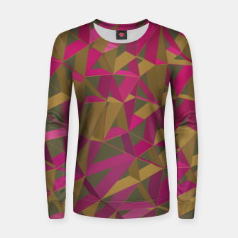 3D Futuristic GEO Lines XL Woman cotton sweater imagen en miniatura