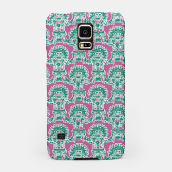 Miniatur  Ancient Mexican Myth Samsung Case, Live Heroes