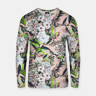 Thumbnail image of Flowering bouquet pink Sudadera de algodón, Live Heroes