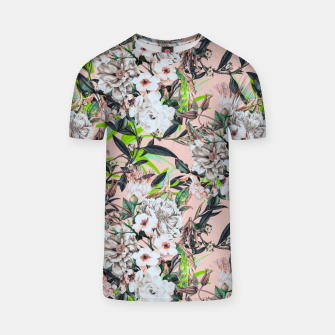 Thumbnail image of Flowering bouquet pink Camiseta, Live Heroes
