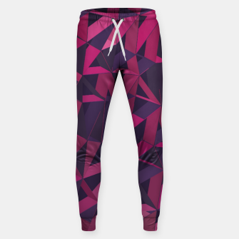Thumbnail image of 3D Futuristic GEO Lines XLI Cotton sweatpants, Live Heroes