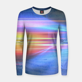 Thumbnail image of Painted light Woman cotton sweater, Live Heroes
