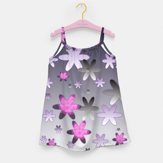 Miniaturka Violet Stars Girl's dress, Live Heroes