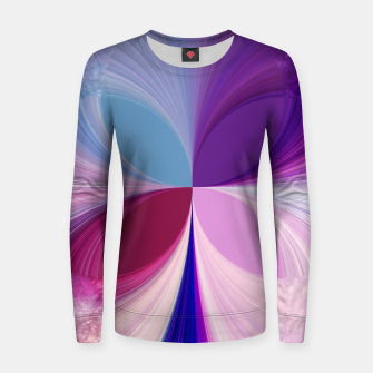Thumbnail image of Pinkish delight Woman cotton sweater, Live Heroes