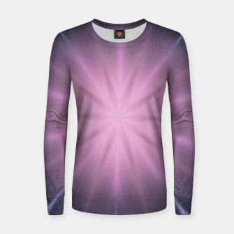 Thumbnail image of Wormhole star Woman cotton sweater, Live Heroes