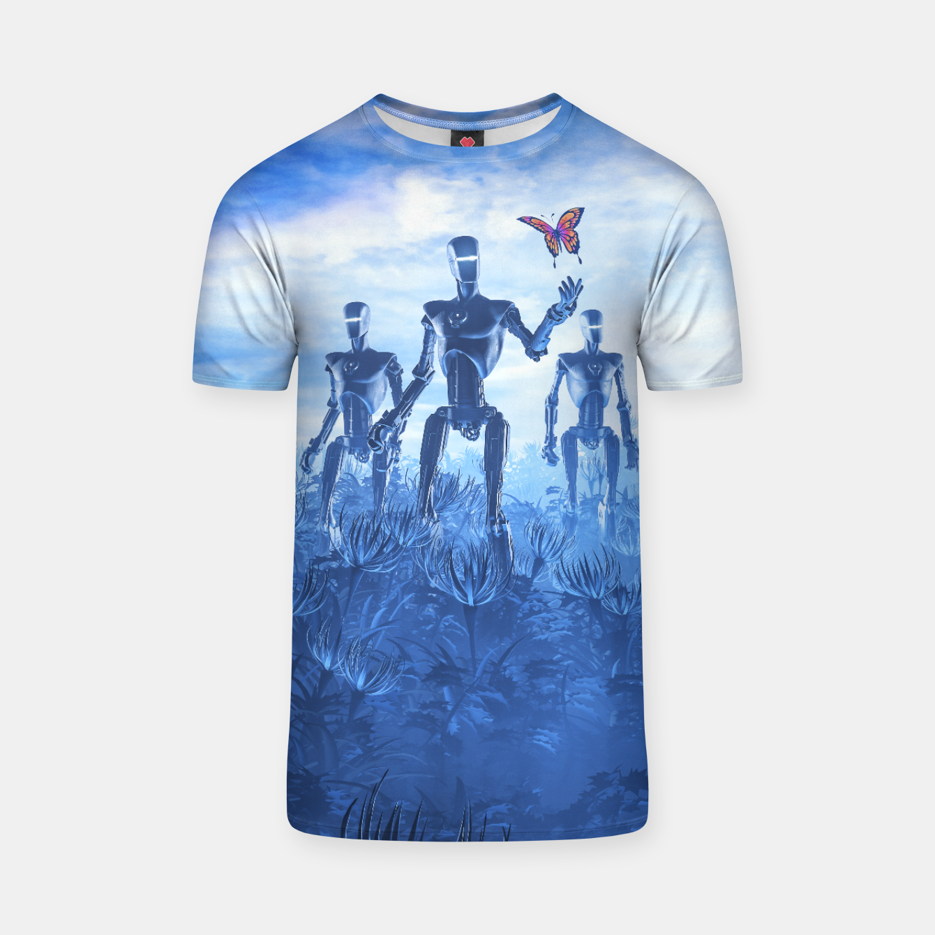 Image of Tech Meets Nature T-shirt - Live Heroes