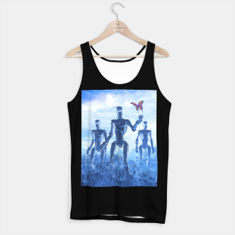 Thumbnail image of Tech Meets Nature Tank Top regular, Live Heroes