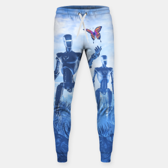 Miniatur Tech Meets Nature Cotton sweatpants, Live Heroes
