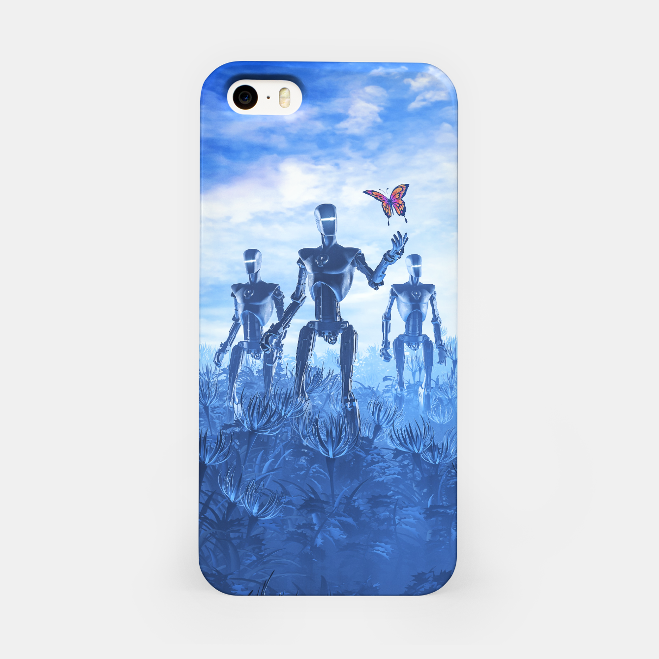 Image of Tech Meets Nature iPhone Case - Live Heroes