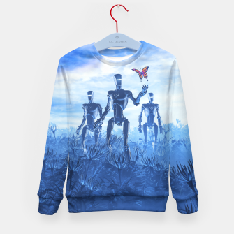 Thumbnail image of Tech Meets Nature Kid's sweater, Live Heroes
