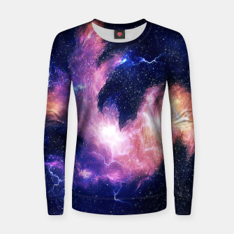 Thumbnail image of Rise of the phoenix Woman cotton sweater, Live Heroes