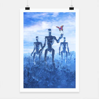 Miniatur Tech Meets Nature Poster, Live Heroes