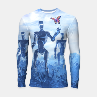 Thumbnail image of Tech Meets Nature Longsleeve rashguard , Live Heroes
