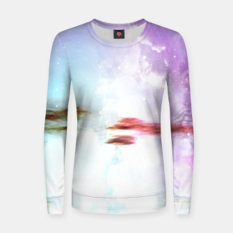 Pastel moon  Woman cotton sweater thumbnail image