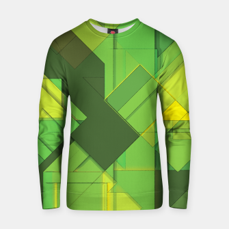 Thumbnail image of So Abstract, So Green Cotton sweater, Live Heroes