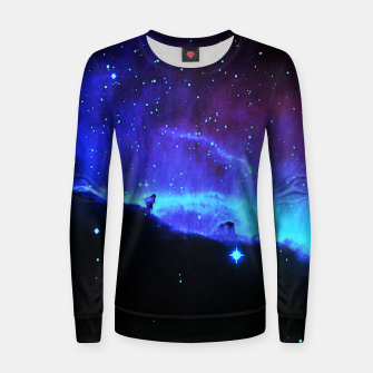 Thumbnail image of Nebulae 2 Woman cotton sweater, Live Heroes