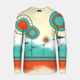 Thumbnail image of Four Wild Flowers Cotton sweater, Live Heroes