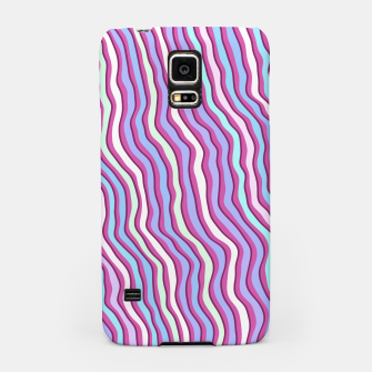 Miniatur Colorful stripes Samsung Case, Live Heroes