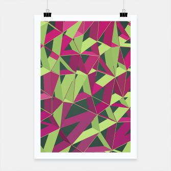 Thumbnail image of 3D Futuristic GEO Lines XLII Poster, Live Heroes