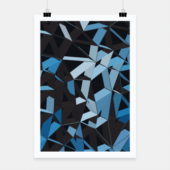 Thumbnail image of 3D Futuristic GEO Lines XXXVI Poster, Live Heroes