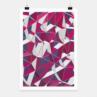 Thumbnail image of 3D Futuristic GEO Lines XXXV Poster, Live Heroes