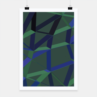 Thumbnail image of 3D Futuristic GEO Lines XLVII Poster, Live Heroes