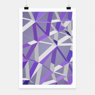 Thumbnail image of 3D Futuristic GEO Lines XLIX Poster, Live Heroes