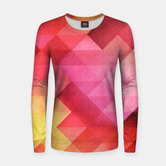Thumbnail image of Fall pattern Woman cotton sweater, Live Heroes