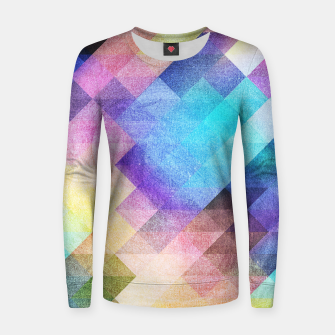 Thumbnail image of Pattern 10 Woman cotton sweater, Live Heroes