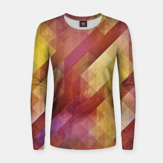 Thumbnail image of Fall pattern 2  Woman cotton sweater, Live Heroes