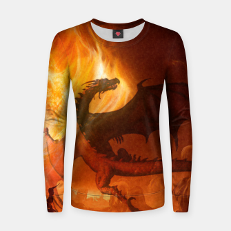 Thumbnail image of Dragon's world Woman cotton sweater, Live Heroes