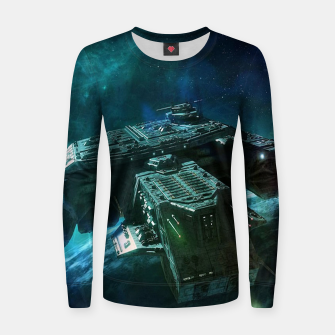 Thumbnail image of Journey home Women sweater, Live Heroes