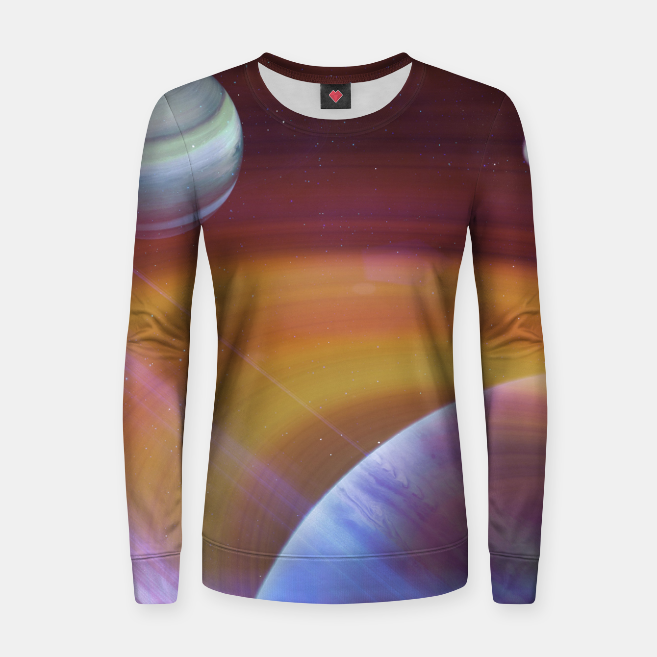 Image of Outer space Woman cotton sweater - Live Heroes