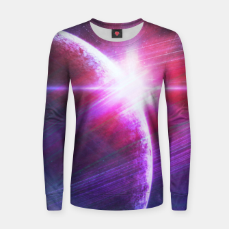 Thumbnail image of Parallel world II Woman cotton sweater, Live Heroes