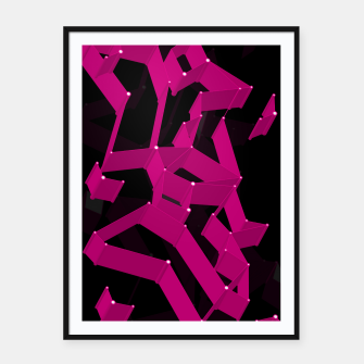 Thumbnail image of 3D X0.3 Framed poster, Live Heroes