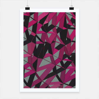 Thumbnail image of 3D Futuristic GEO Lines XXXIX Poster, Live Heroes