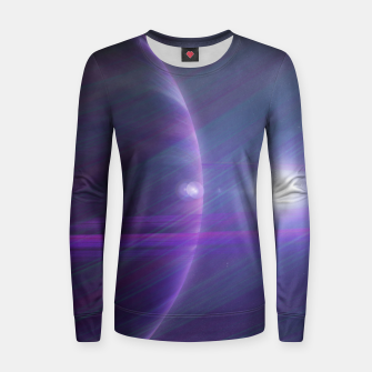Thumbnail image of A world away Woman cotton sweater, Live Heroes