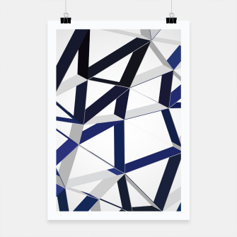 Thumbnail image of 3D Futuristic GEO Lines XLIII Poster, Live Heroes