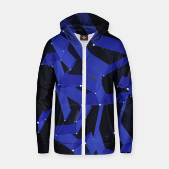 Thumbnail image of 3D X0.4 Cotton zip up hoodie, Live Heroes