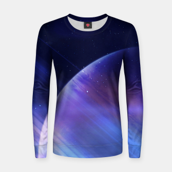Thumbnail image of Secrets of the galaxy Woman cotton sweater, Live Heroes