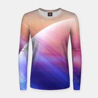 Thumbnail image of Return to the secrets of the galaxy  Woman cotton sweater, Live Heroes
