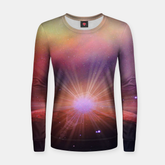 Thumbnail image of Mars rises Woman cotton sweater, Live Heroes