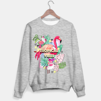 Miniatur Tropical Vibes - Flamingo Sweater regular, Live Heroes