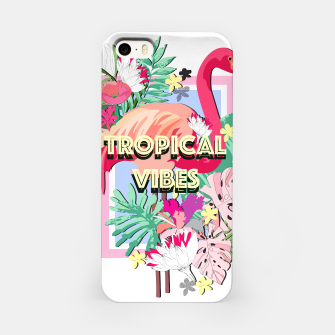Miniaturka Tropical Vibes - Flamingo iPhone Case, Live Heroes