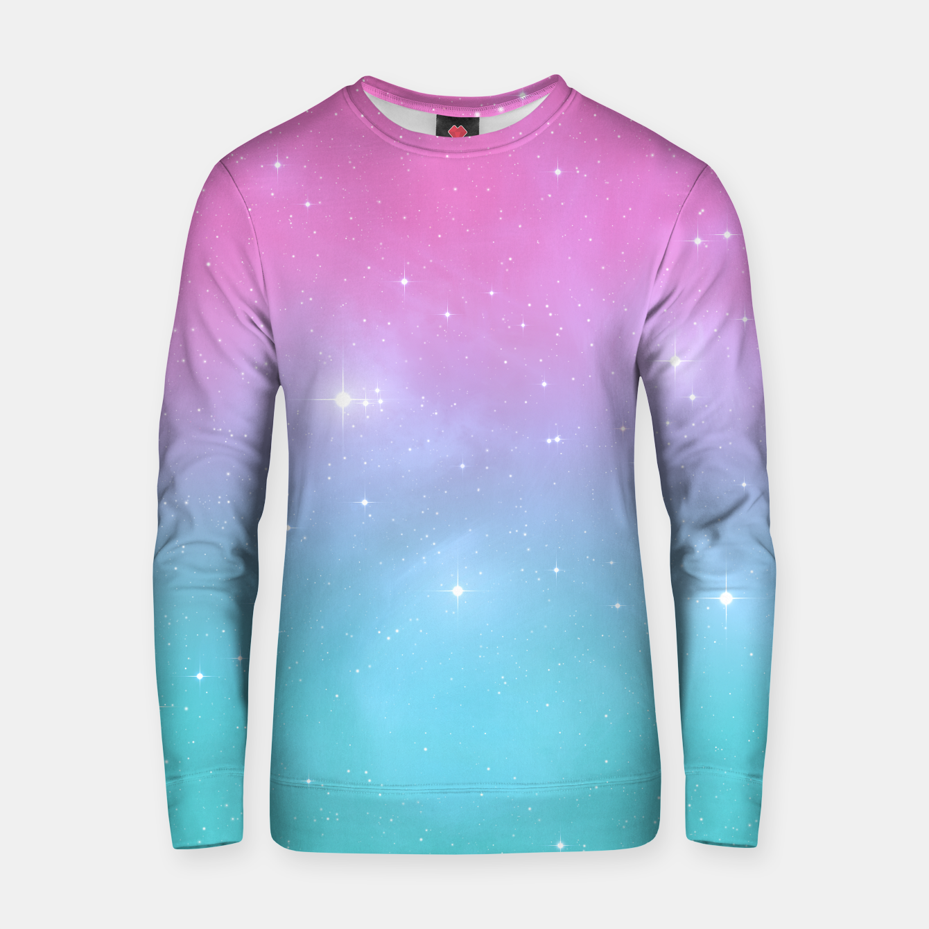 Image of Pastel Goth Galaxy Cotton sweater - Live Heroes