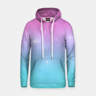 Pastel Goth Galaxy Cotton hoodie thumbnail image