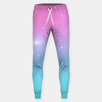 Miniatur Pastel Goth Galaxy Cotton sweatpants, Live Heroes