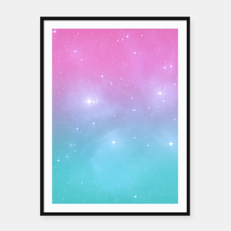 Miniatur Pastel Goth Galaxy Framed poster, Live Heroes