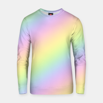 Pastel Goth Rainbow  Cotton sweater obraz miniatury